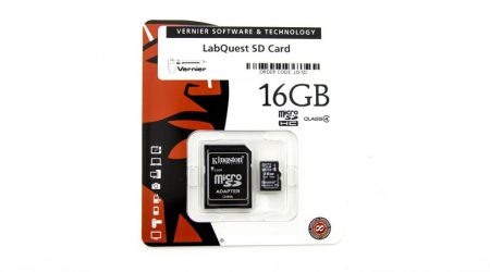 LabQuest 16 GB SD Card