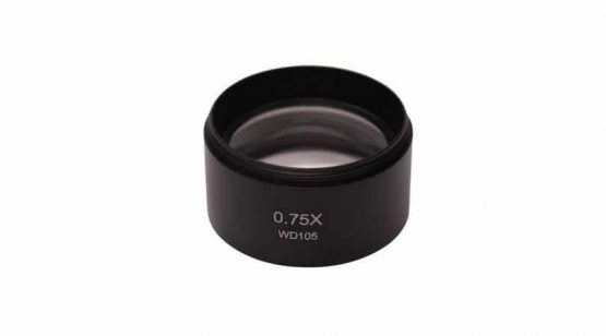 Additional lens 0.75x (w.d. 117mm)
