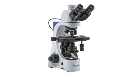 Binocular microscope E-PLAN IOS objectives, with Automatic Light Control