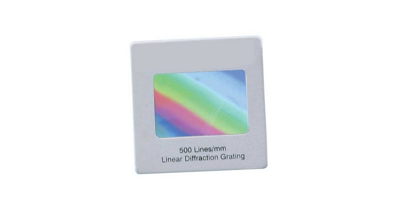 Diffraction Gratings 1000 Lines/mm