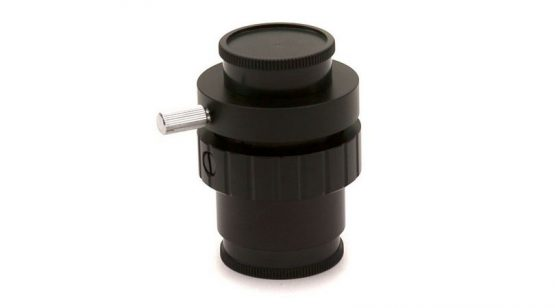 Focusable C-Mount adapter for 1/2 inch sensor