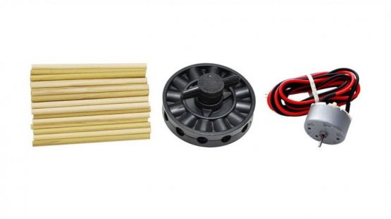 KidWind Basic Turbine Building Parts