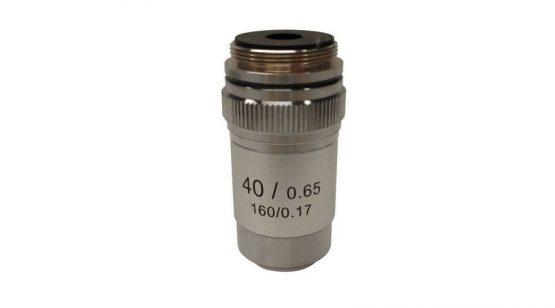 Objective achromatic 40x/0.65