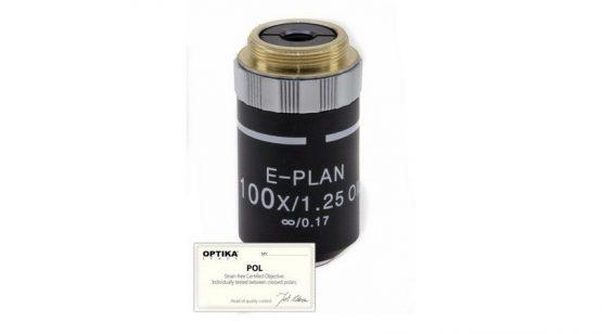 Objective E-PLAN IOS POL 100x/1.25 (Oil)