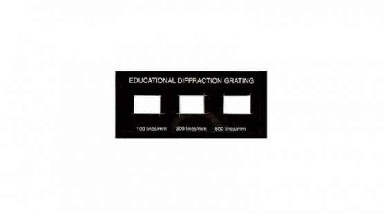 Set of 3 Diffraction Gratings