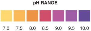 pH 7-10