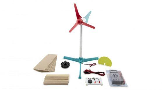Mini Wind Turbine with Blade Design