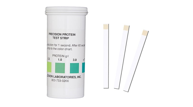 Protein Test Strips
