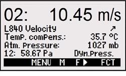 2590 Flow Display