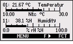 2590 Temperature Display