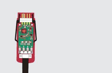 D7 Digital connector Grey