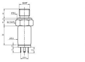 FDA602LXX pressure sensor diagram