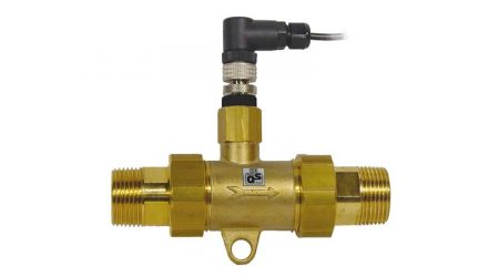 Axial Turbine Flowmeter for Liquids FVA915VTH25