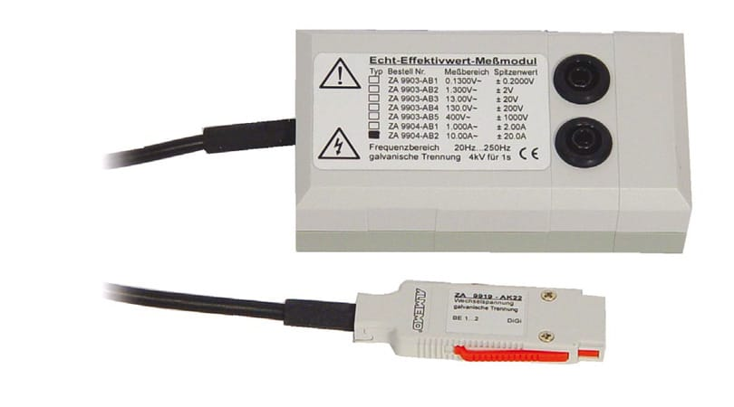 True Effective Measuring Modules for AC Voltages and AC Current ZA9903AB/ZA9904AB