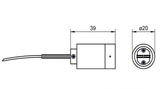 FTA026P NiCr-Ni sensor for surface measurement