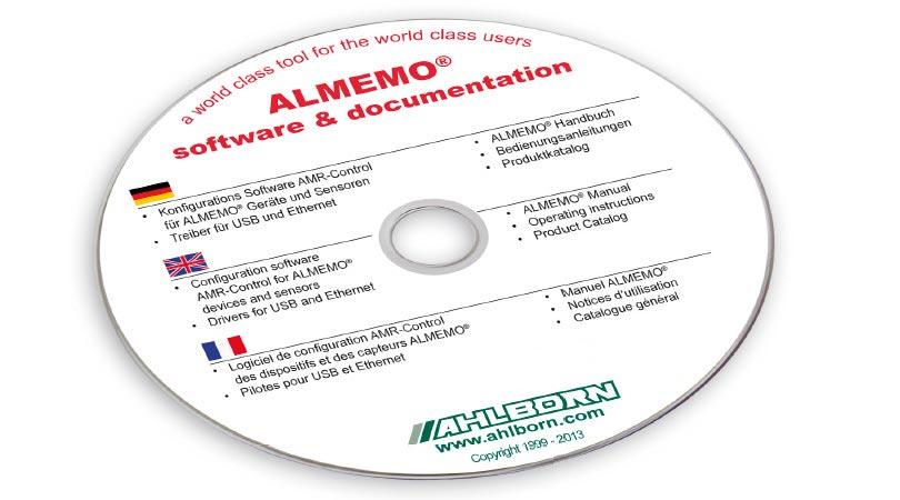 AMR-Control Ahlborn software