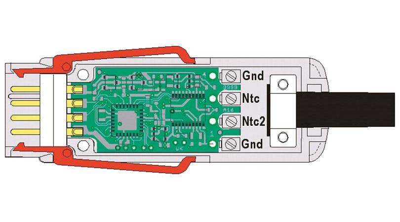 Digital Temperature Sensor ZAD040FS