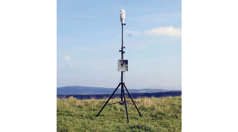 Ahlborn Mobile Weather Station