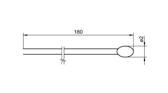 Ahlborn NTC sensor FN0001