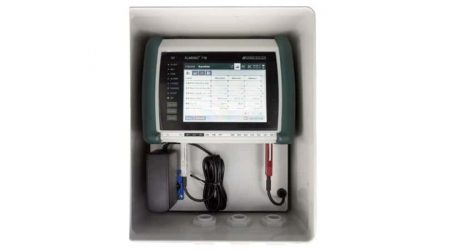 Weather-Proof Housing AG7 for ALMEMO® 710 with Meteorological Sensor