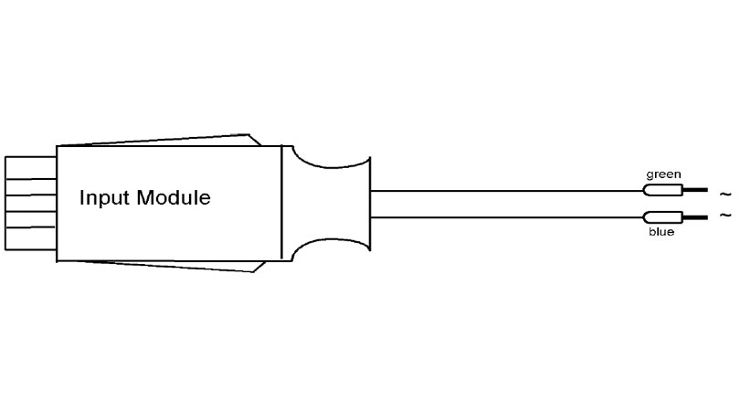 almemo adapter cable for Ac voltage