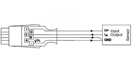 ALMEMO® Connector for DC mA Differential