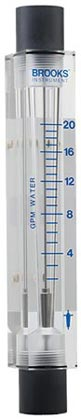 variable area flowmeter 2540i series long