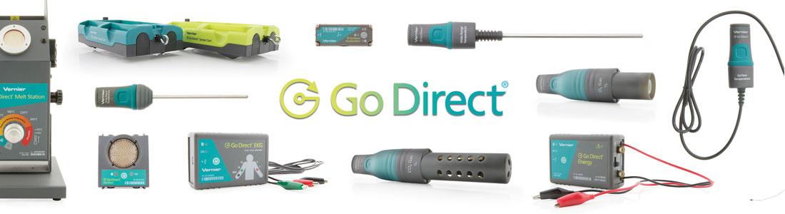 Go Direct Sensor Banner