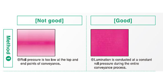Pressure Film Adhesive Pressure Application Results