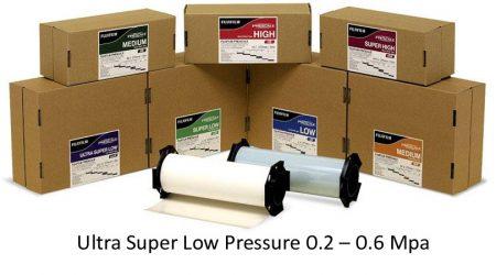 PF3LWR Pressure Film Ultra Super Low Pressure 0.2 - 0.6 Mpa