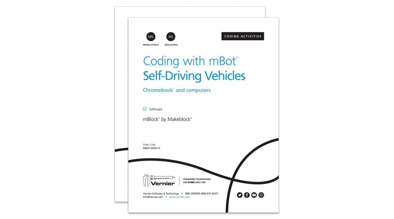 Coding with mBot: Self-Driving Vehicles