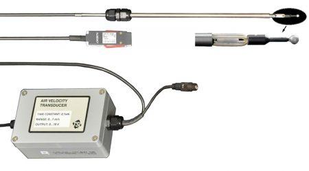 Digital Thermoanemometer Omnidirectional FVAD 05-TOKx with Almemo D6 Sensor