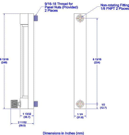 Reference Series 150mm Dimensions