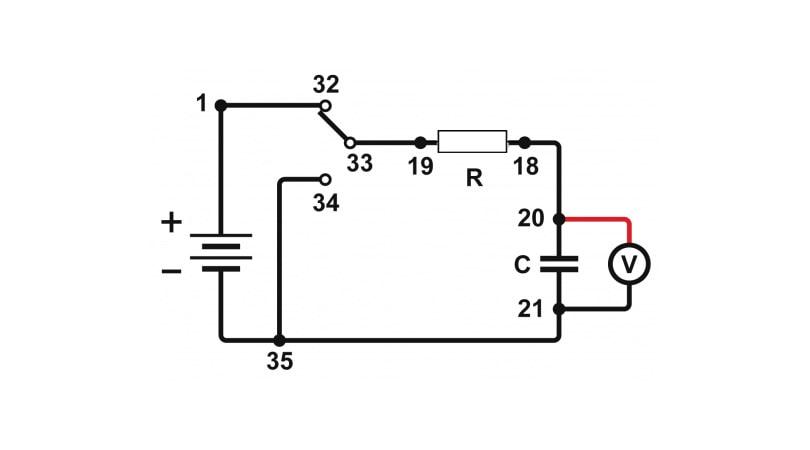Capacitor Circuit Diagram