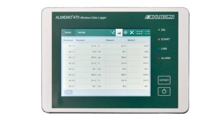 Wireless Data Logger ALMEMO® 470-1